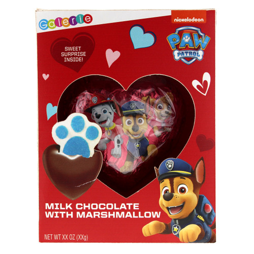 Paw Patrol Chocolate Bomb with Marshmallow Surprise