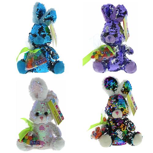 Galerie Sequin Bunny Plush