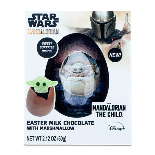 Star Wars Mandalorian Chocolate Bomb with Marshmallow Surprise