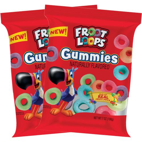 Froot Loops Gummies 7oz (2 Pack) (PRE-ORDER)