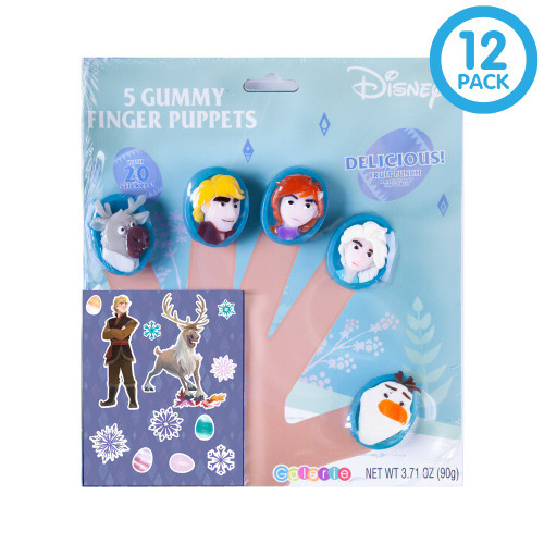Frozen Gummy Finger Puppet Party Pack