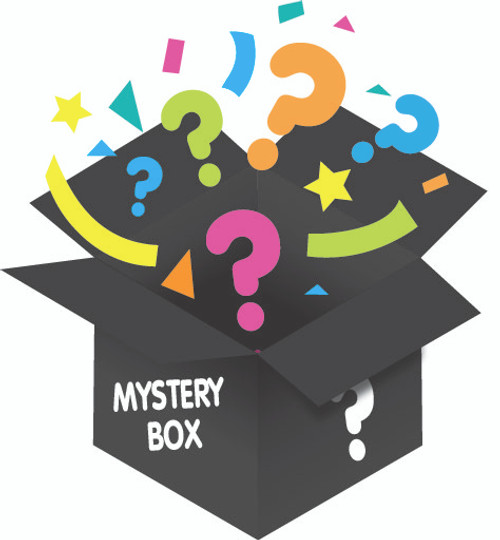 Mystery Box from Galerie Candy & Gifts filled with unknown Star Wars themed surprises. Treat your Star Wars Fan to a surprise out of this world! $60 Value