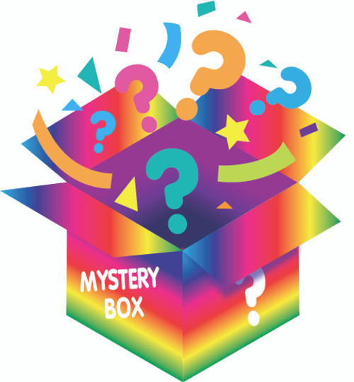 Rainbow Mystery Box from Galerie Candy & Gifts filled with unknown Galerie Branded Candy and Giftable surprises. $60 Value