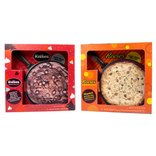 Both Kisses and Reese's party skillets