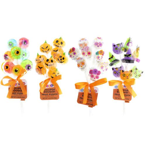 Galerie Halloween Lollipop Bouquets (4 Pack)