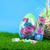 Trolls Jumbo Eggs with Candy (Set of 2)