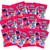 Each bag contains 16 individual bags of gummies perfect for trick or treating. These delicious gummies have been a huge hit and will be sure to make your house the talk of the town.