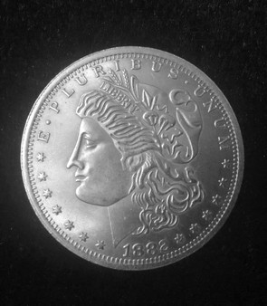 Morgan Dollar Flipper Coin