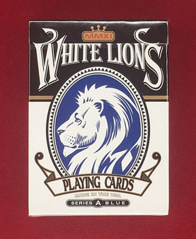 David Blaine White Lions Series A Blue