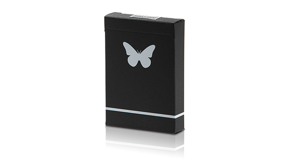 Butterfly Playing Cards - Black & White (Marked)