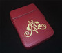 Red Case with Gold Design