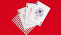 Torch Red Enigma Playing Cards