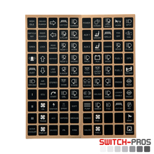 Vertical Switch Legends for Switch-Pros System