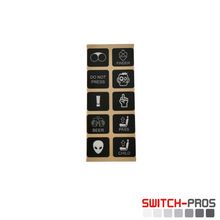 Comical Switch Legends for Switch-Pros System