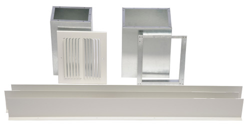 Williams Furnace Company 6701 Side-Outlet Register for Forsaire Top-Vent and Direct-Vent Furnace