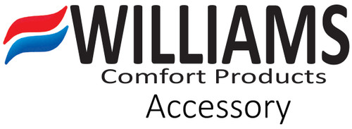 Williams Furnace Company P500676 Rear Log Set - 6502A Series