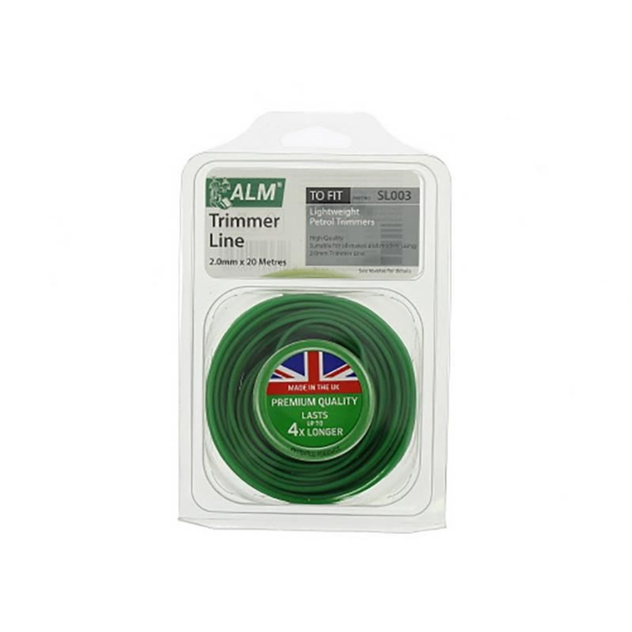 Green Garden Strimmer Line 20m x 2.0mm