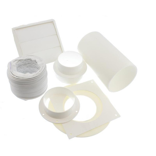 UNIVERSAL COOKER HOOD TUMBLE DRYER WALL OUTLET VENT KIT