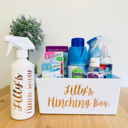 Hinching Set - Storage Basket & Spray Bottle