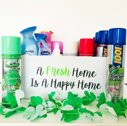 Quote - A Fresh Home is a happy Home