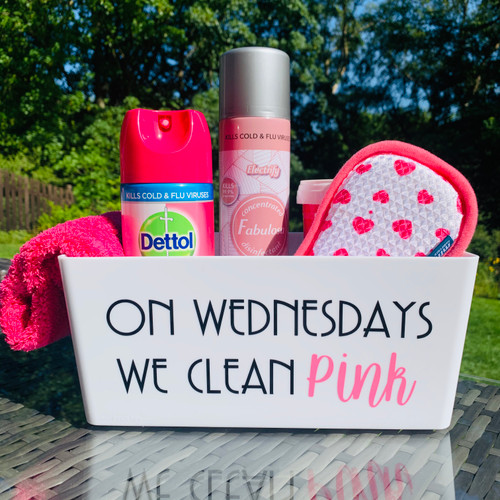 Quote - On Wednesdays We Clean Pink