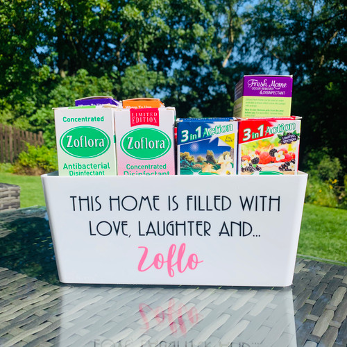 Quote - This Home Is Filled With Love, Laughter and... Zoflo