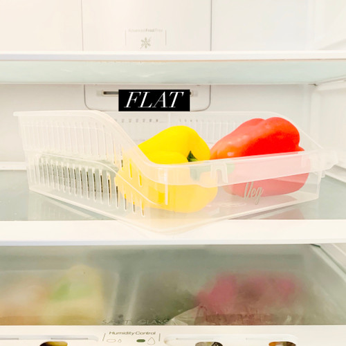 Flat - Fridge Storage Tray