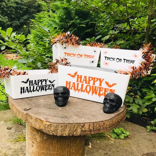 Halloween Trick Or Treat Sweet Storage Box