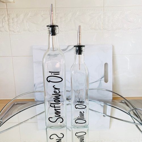 250/500ml Glass Oil Dispenser Bottle