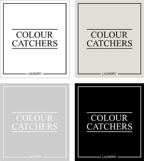 Minimal Colour Catchers Label