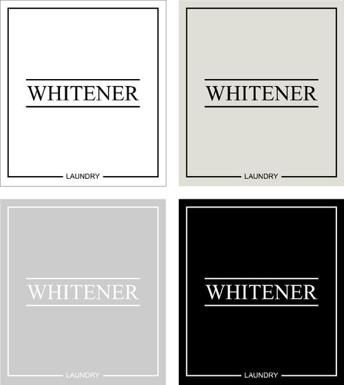 Minimal Whitener Label