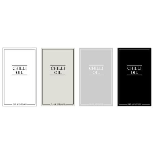 Minimal Chilli Oil 250ml Label