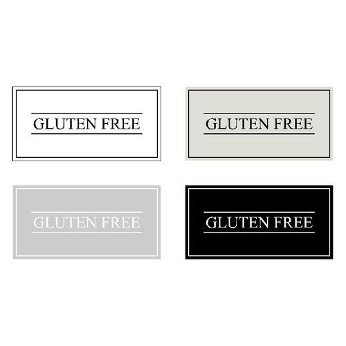Minimal Gluten Free Label