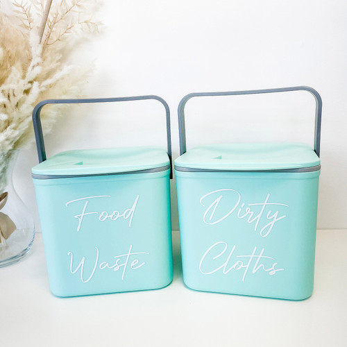 Grab a Bargain - Pre Labelled Green Minky Caddy (Font 11)