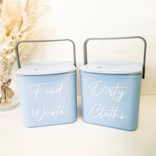 Grab a Bargain - Pre Labelled Blue Minky Caddy (Font 11)