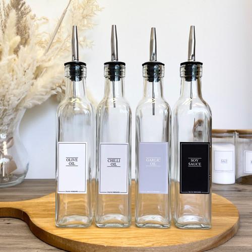Minimal 250ml Oil Dispenser Bottle