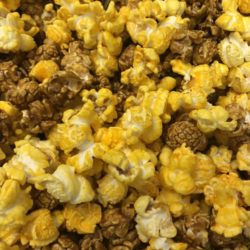 Depot Delight (cheddar and caramel) popcorn