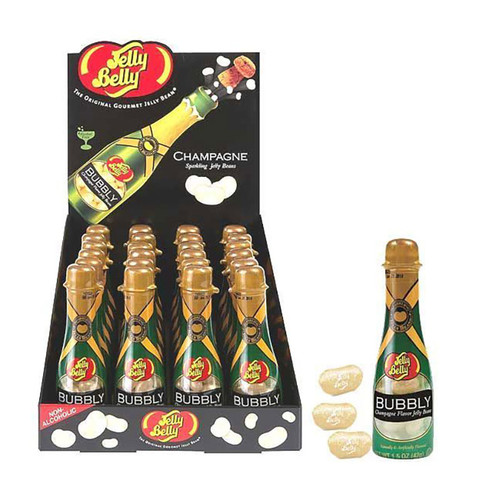 Jelly Belly Bubbly Champagne Bottle