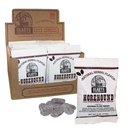 Claeys Old-Fashioned Hard Candy - Horehound flavor