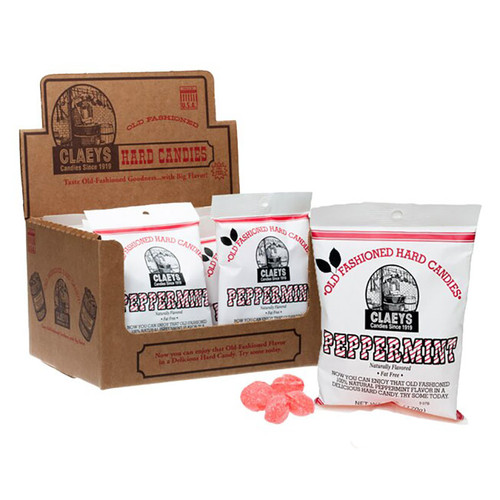 Claeys Old-Fashioned Hard Candy - Peppermint flavor