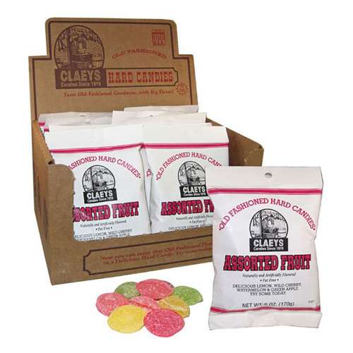 Claeys Old-Fashioned Hard Candy - Assorted flavors