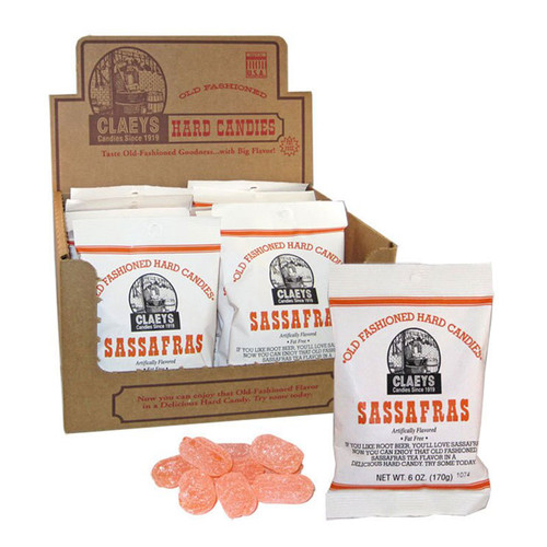 Claeys Old-Fashioned Hard Candy - Sassafras flavor