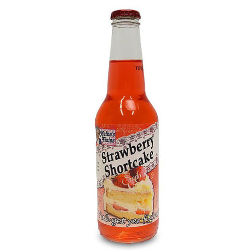 Melba's Fixins Strawberry Shortcake soda