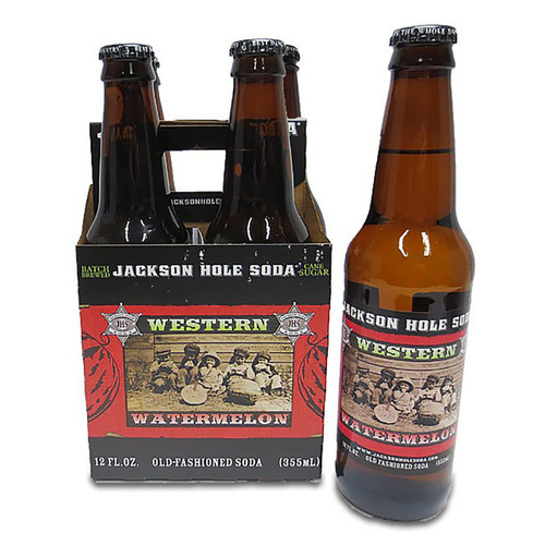 Jackson Hole Western Watermelon soda