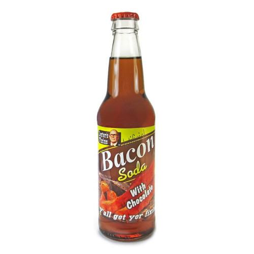 Lester's Fixins Bacon with Chocolate soda