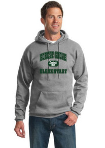 "Forest Grove Hoodie with ""Established"" Design"