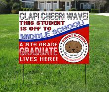 RHD 5th grade Class of 2021 Yard Sign