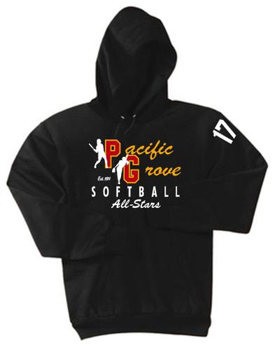 PG Pony Hooded All-Star Sweatshirt