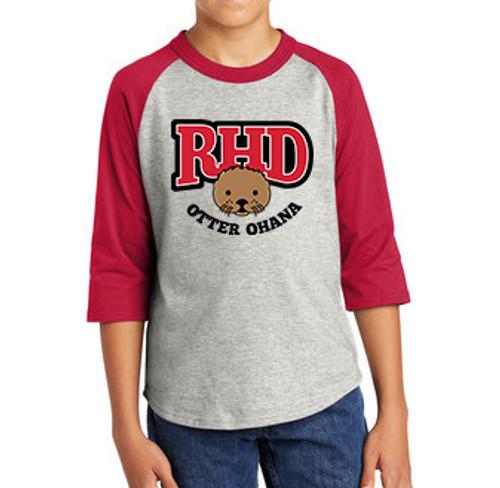 Otter Ohana Unisex Baseball Style Jersey
