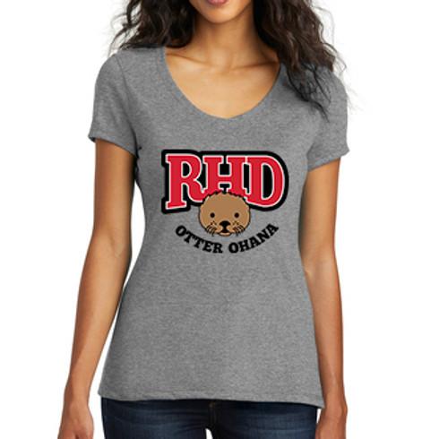 Otter Ohana Gray Ladies Cut Shirt